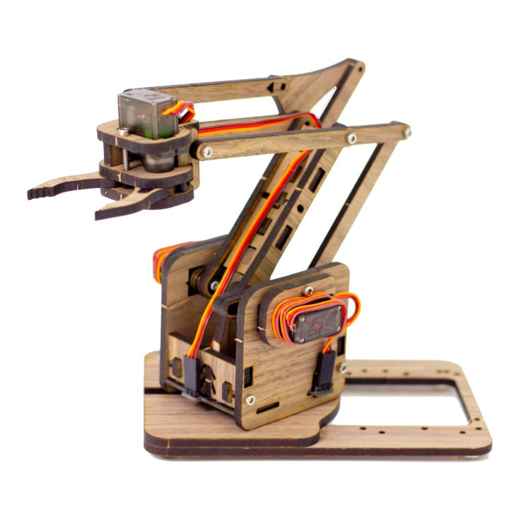 MeArm V3.0 in American Black Walnut (not a production option!)